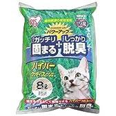 アイリス 猫砂 がっちり固まる・しっかり消臭 ハイパーウッディフレッシュ 8L 【猫 トイレ】