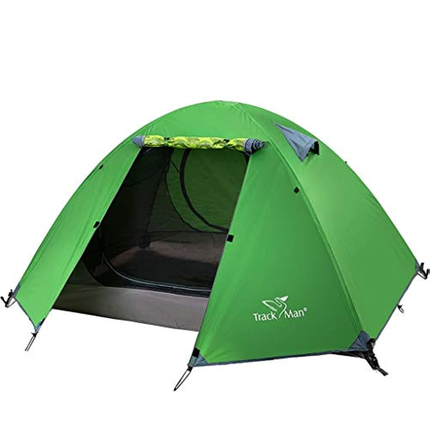 送金合唱団集めるRoscloud アウトドアテント2人観光旅行キャンプ旅行雨風ダブルレイヤーテント