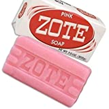 Zote Laundry Soap Bar - Pink 7oz by Zote [並行輸入品]