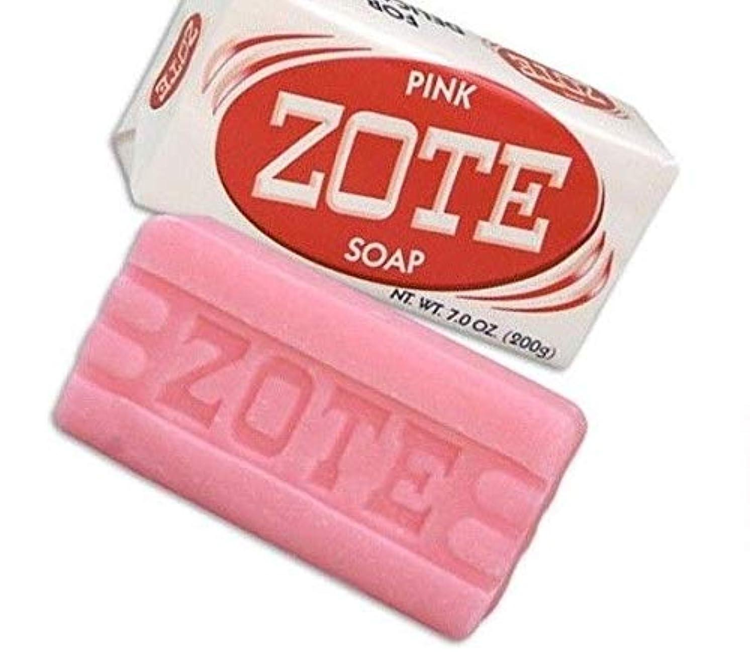 歯科医吸収剤重要性Zote Laundry Soap Bar - Pink 7oz by Zote [並行輸入品]