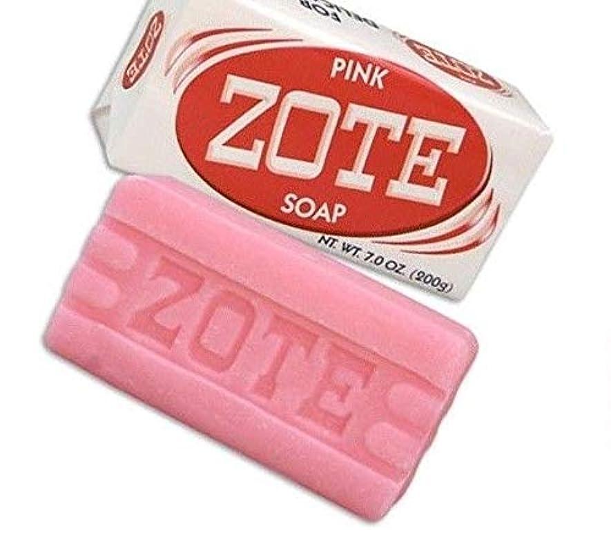 混乱ボイコットステープルZote Laundry Soap Bar - Pink 7oz by Zote [並行輸入品]