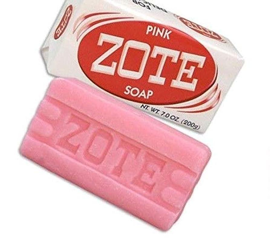 コンテンポラリーゴールド自伝Zote Laundry Soap Bar - Pink 7oz by Zote [並行輸入品]