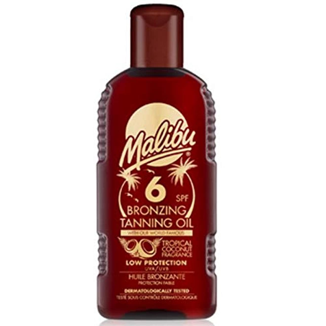 フォーマット便利脅威[Malibu ] マリブブロンズ日焼けオイルSp6 - Malibu Bronzing Tanning Oil Sp6 [並行輸入品]