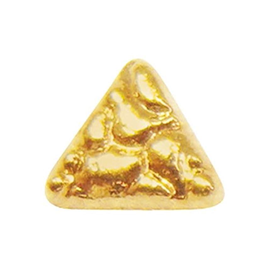 津波高く作動するジェルネイル  サンシャインベビー アンティーク トライアングル(ゴールド) 10P