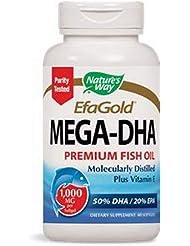 EFAゴールド メガ-DHA 60 sgels  5個パック