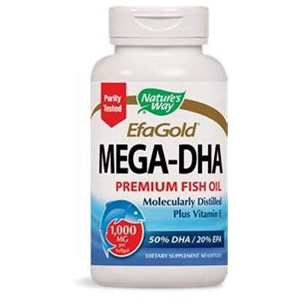 致命的な避ける料理をするEFAゴールド メガ-DHA 60 sgels  5個パック