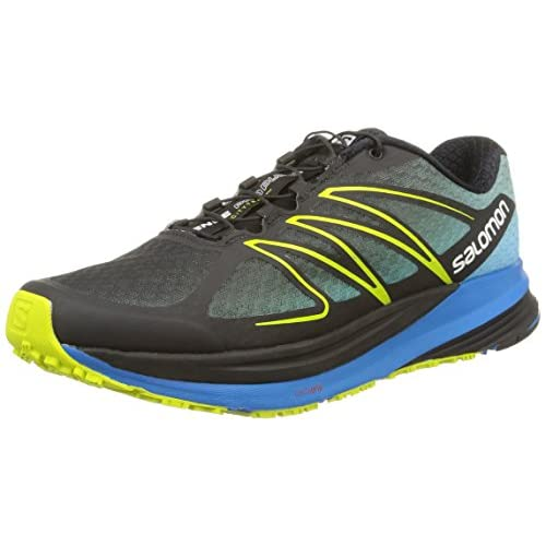 [サロモン] SALOMON トレイルランニングシューズ SENSE PROPULSE L37640200 BLACK / METHYL BLUE / GECKO GREEN (BLACK / METHYL BLUE / GECKO GREEN/26.5)
