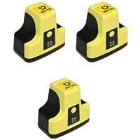 画像をクリックして拡大ビュー3パックElite Supplies互換インクジェットカートリッジ交換用HP02 HP-02XL、HP C8721W、HP Photosmart (3イエロー)