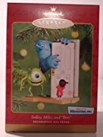 "Monsters, Inc. 2001 Keepsake Ornament - Sulley, Mike, and ""Boo"" by Monster's Inc. [並行輸入品]"