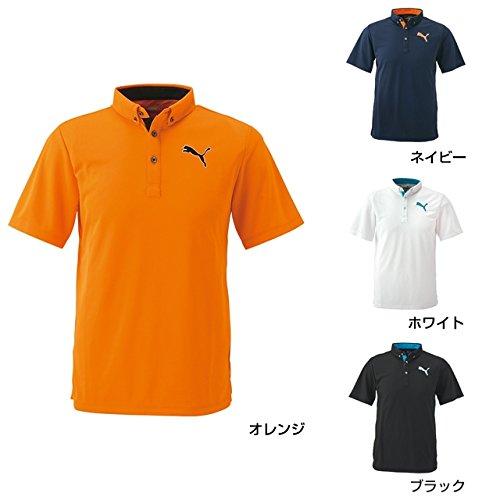 PUMA(プーマ) (923577) 半袖 ポロシャツ メンズ ゴルフウェア 2017 春夏 ネイビー Lメンズ