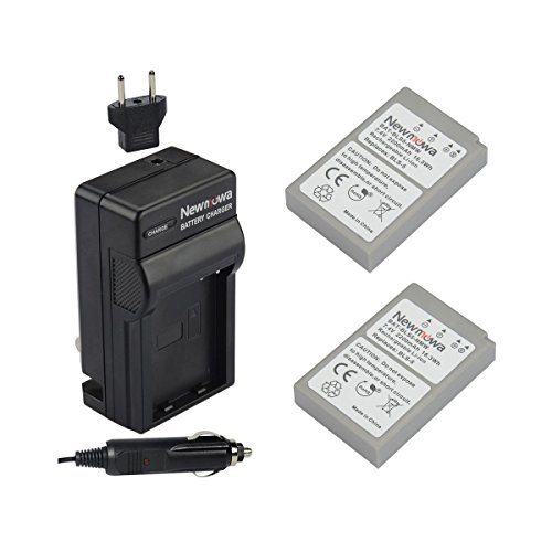 Newmowa BLS-5 電池#x3084;充電器 #x306f; Olympus BLS-5, BLS-50, PS-BLS5,Olympus OM-D E-M10, PEN E-PL2, E-PL3, E-PL5, E-PL6, E-PL7, E-PL8, E-PM2#x3092;適用#x3057;#x3066;#x3044;#x308b;
