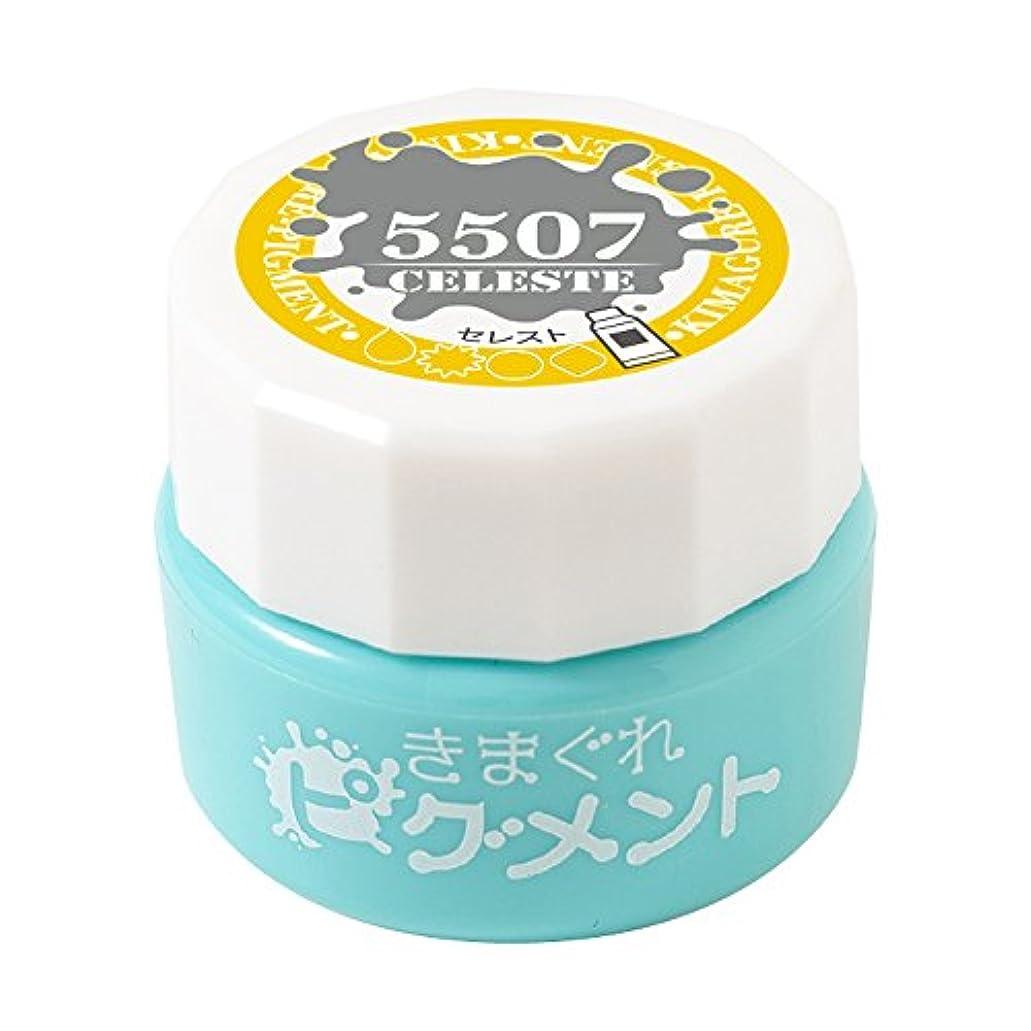 刺繍日焼け差し控えるBettygel きまぐれピグメント セレスト QYJ-5507 4g UV/LED対応