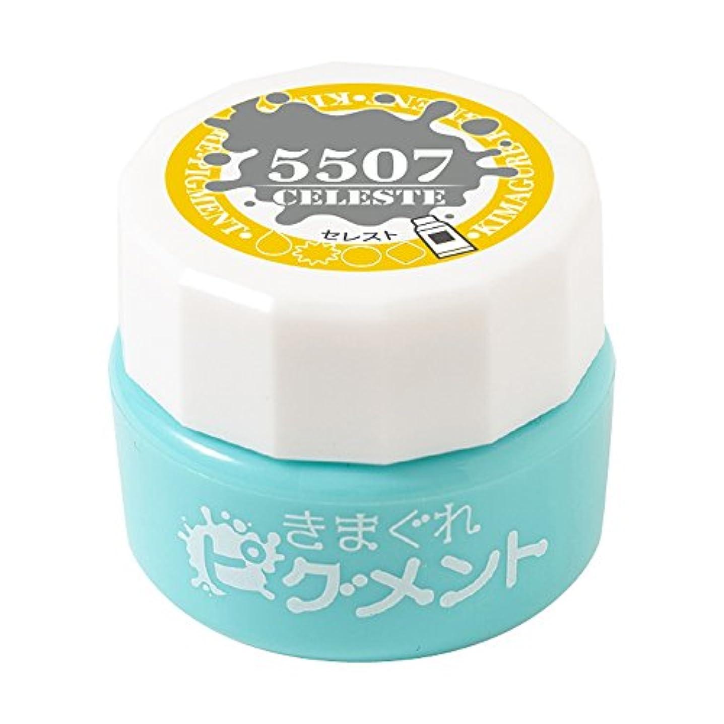 Bettygel きまぐれピグメント セレスト QYJ-5507 4g UV/LED対応