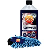 303 Products 30577 Car Wash with Mitt, 18oz Bubble Gum Scent