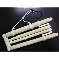 長尺帯掛付伸縮和装着物ハンガー 小さく折畳みOK