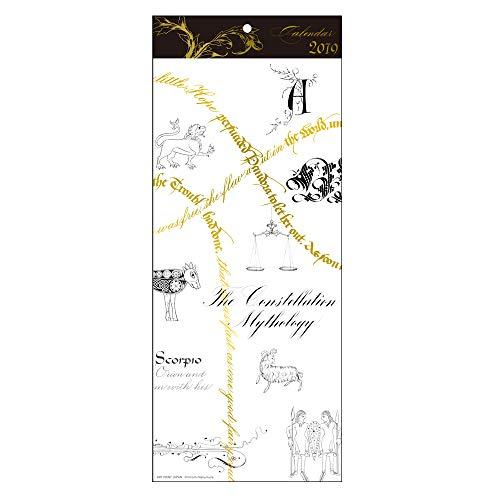 アートプリントジャパン 2019年 GOLD Design/星座の物語 カレンダー vol.204 1000101142