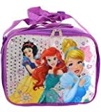 Lunch Bag - Disney - Princess Snow White, Cinderella & Ariel NewPRNSQ
