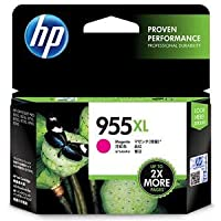(まとめ)HP HP955XL インクカートリッジマゼンタ L0S66AA 1個 【×2セット】