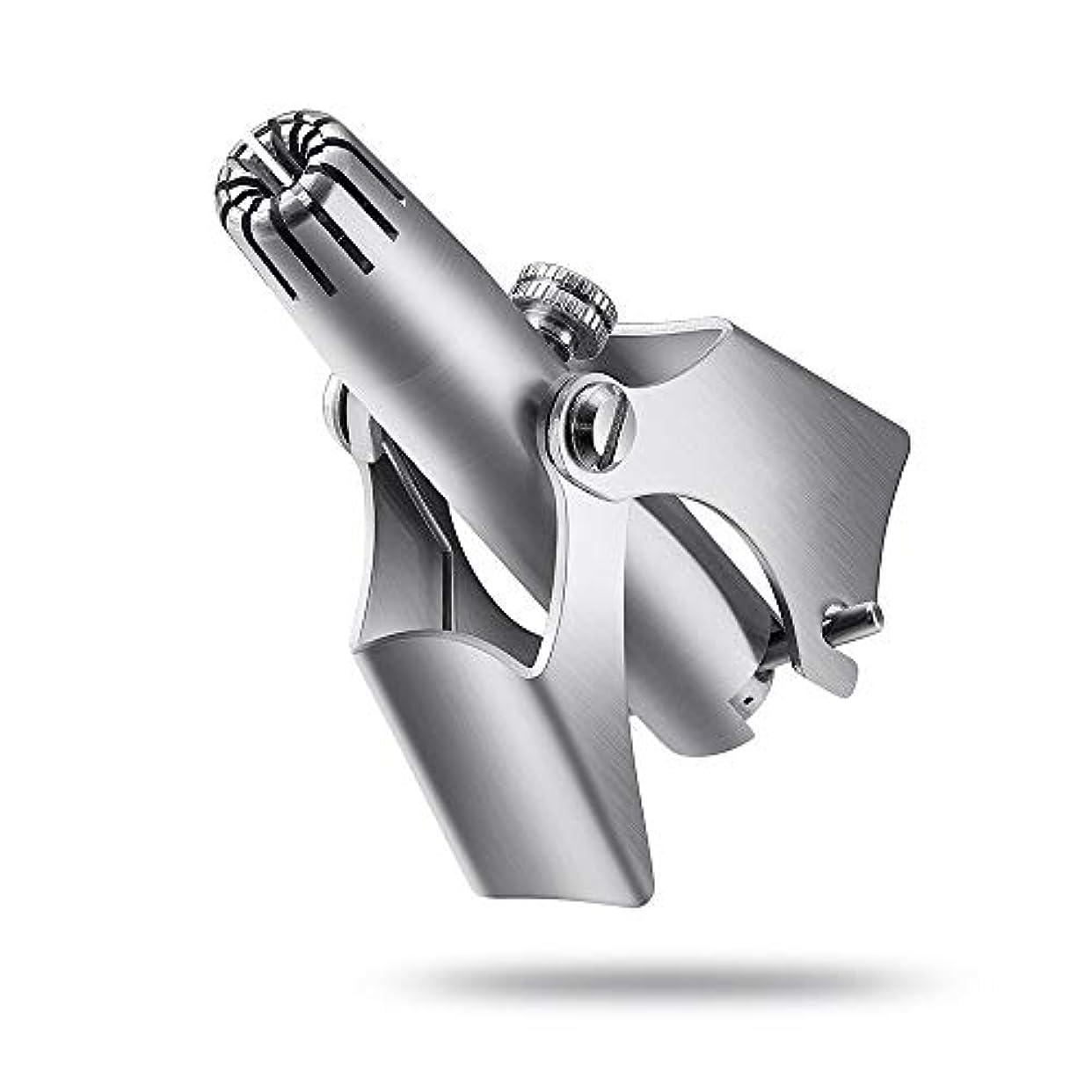 手首電話大手動 鼻と耳の毛 トリミング機 ユニセックス 手動ステンレス鋼 鼻毛除去剤
