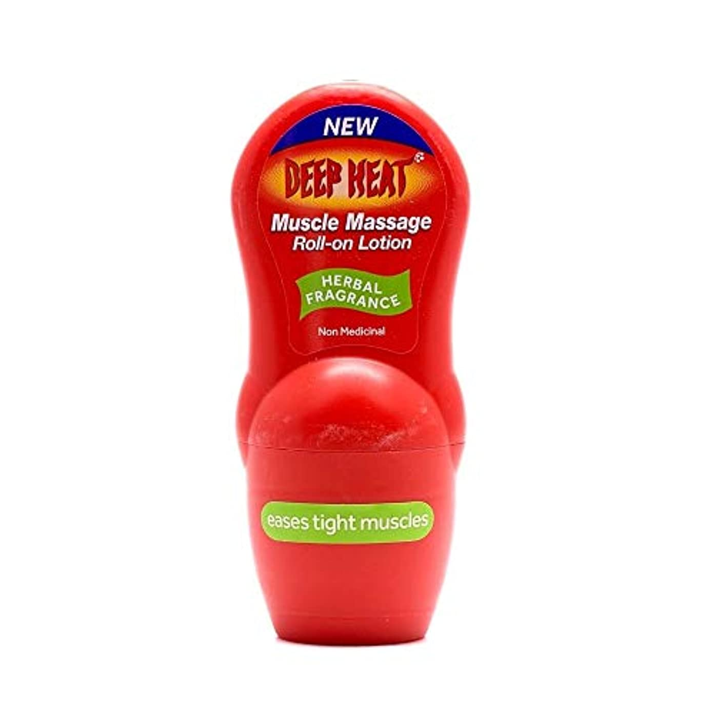 テザー額早いDeep Heat 50 ml Muscle Massage Roll-On Lotion by Deep Heat