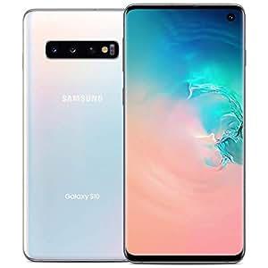 "Samsung Galaxy S10 128GB SM-G973F/DS (FACTORY UNLOCKED) 6.1"" 8GB RAM Dual Sim [並行輸入品] (Prism White)"