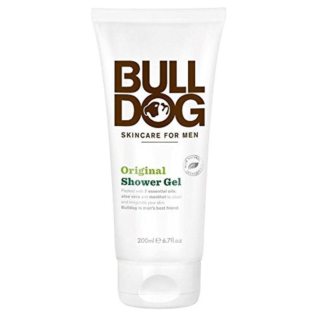 感嘆符修士号切り刻むBulldog Shower Gel - Original (200ml) ブルドッグのシャワージェル - 元( 200ミリリットル)