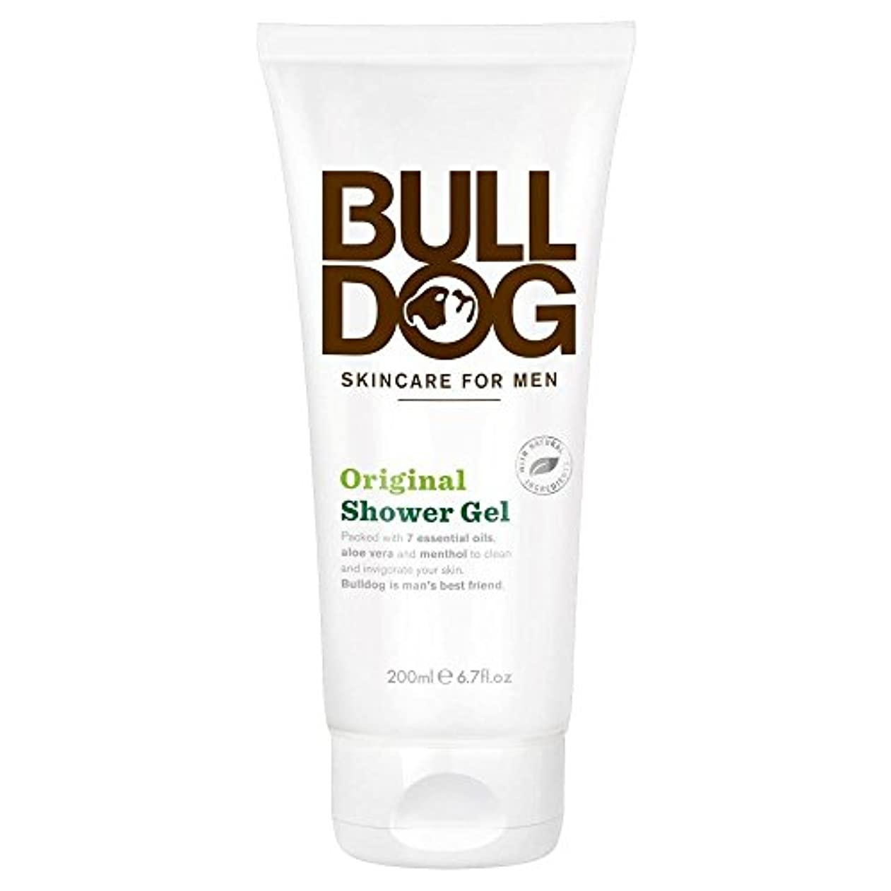 テロ拒絶ご注意Bulldog Shower Gel - Original (200ml) ブルドッグのシャワージェル - 元( 200ミリリットル)