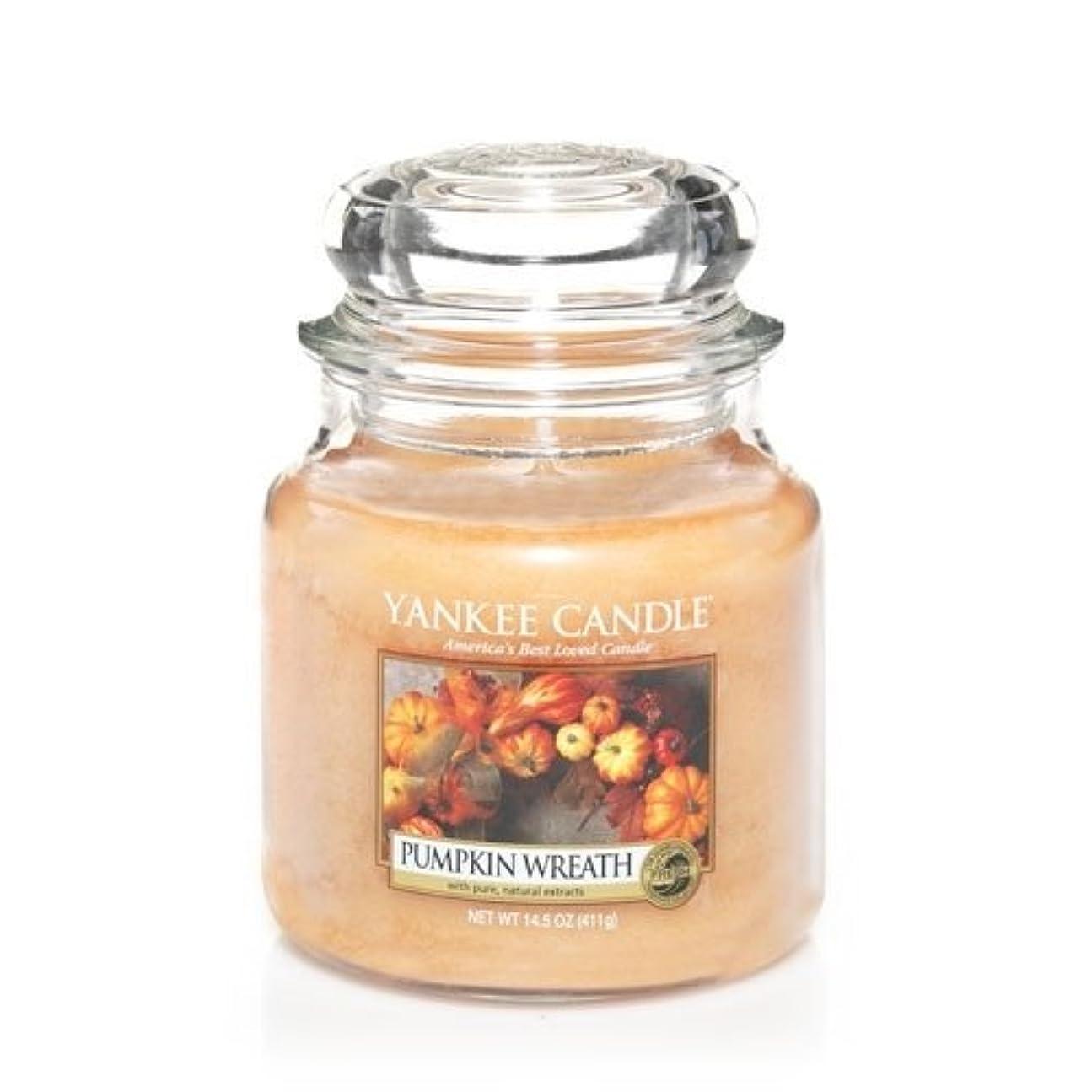 暴力餌ワイプYankee Candle Pumpkin Wreath