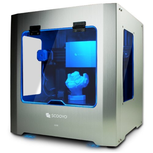 オープンキューブ 3Dプリンタ SCOOVO C170 3Dプリンタ本体 シルバー SCV-C170-S
