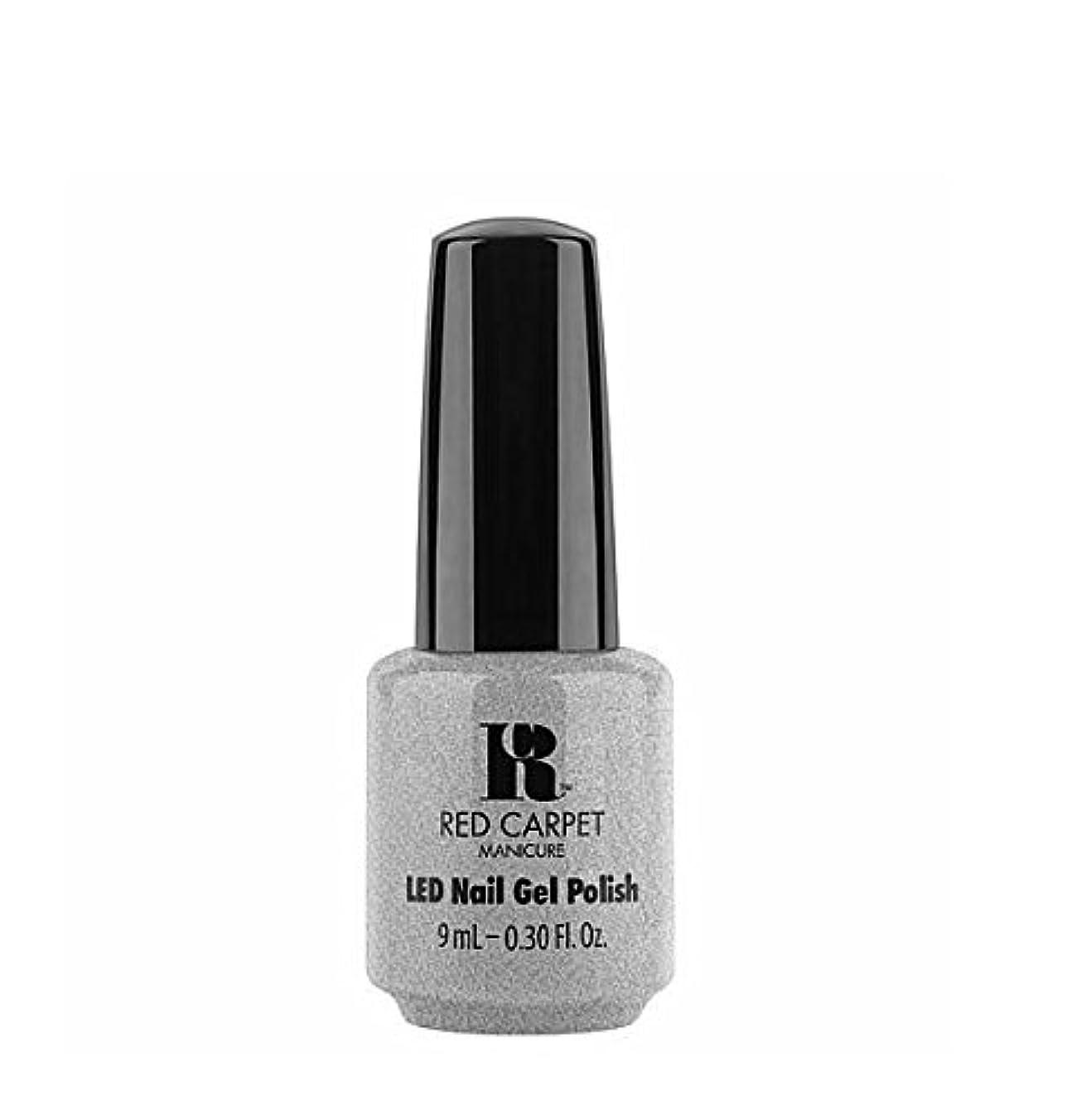 抵抗する労苦水分Red Carpet Manicure LED Gel Polish - Retro Ready - 9 ml/0.30 oz