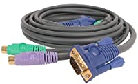 6 ft. KVM 3-in-1 Cable (PS/2