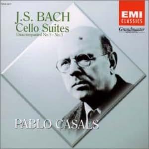 J.S.バッハ: 無伴奏チェロ組曲 第1番~第3番