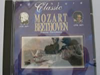 MOZART - BEETHOVEN -OVERTUEREN - ANTON NANUT - LUBLJANA SYMPH ORCH (1 CD)