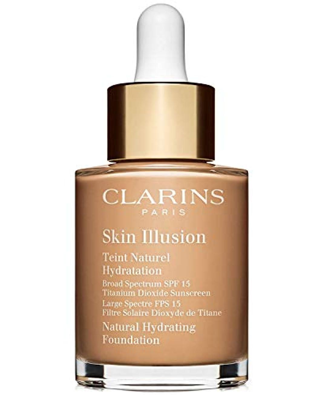 最後に進行中メイドクラランス Skin Illusion Natural Hydrating Foundation SPF 15# 108 Sand 30ml/1oz並行輸入品