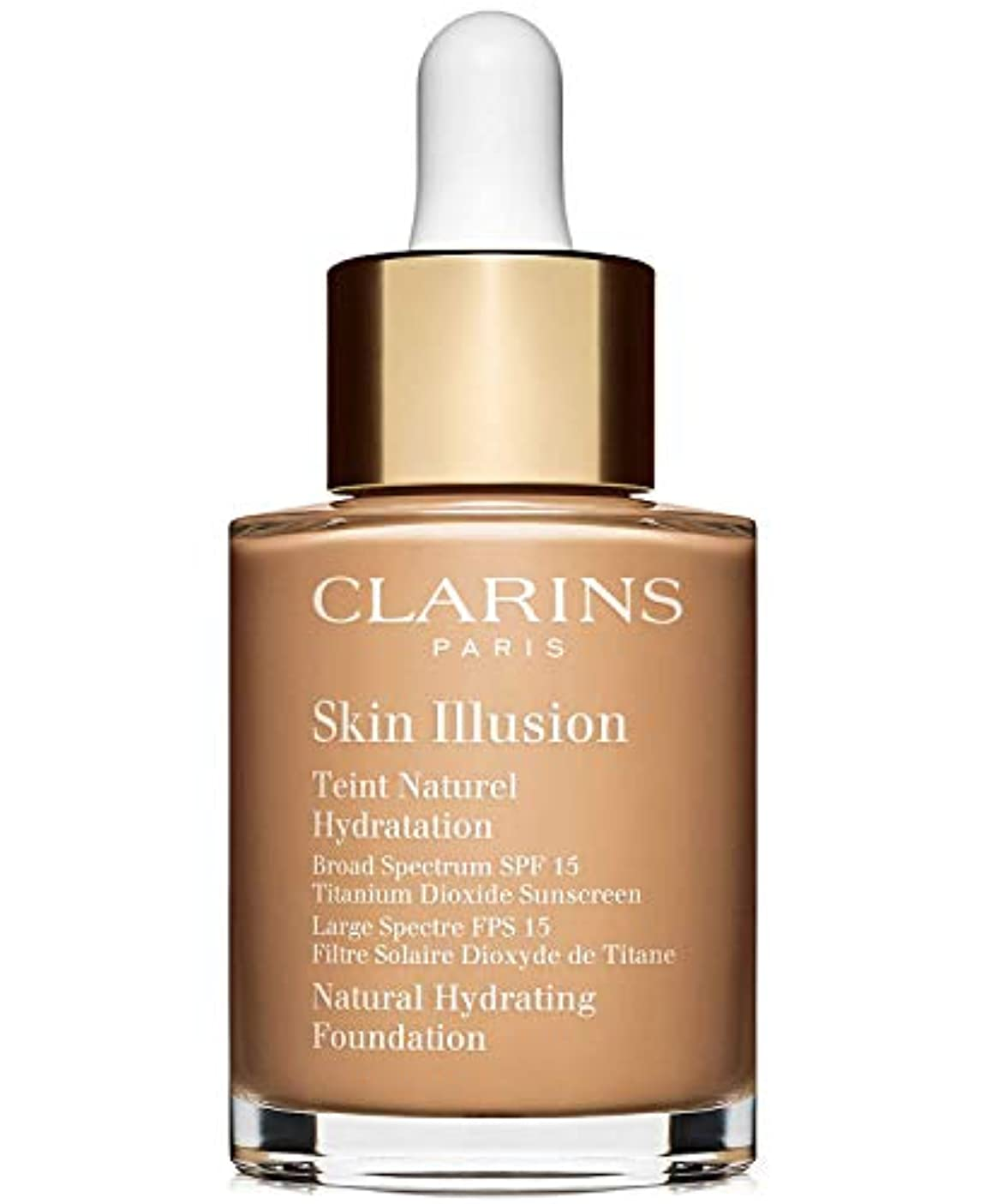 修理可能盗賊いとこクラランス Skin Illusion Natural Hydrating Foundation SPF 15# 108 Sand 30ml/1oz並行輸入品