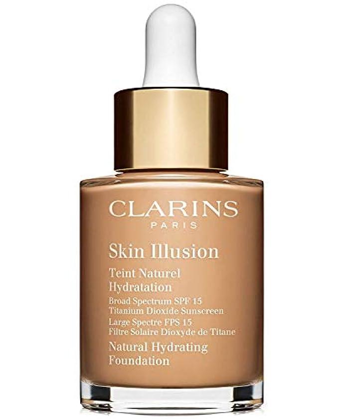 発言する欠点植物学者クラランス Skin Illusion Natural Hydrating Foundation SPF 15# 108 Sand 30ml/1oz並行輸入品