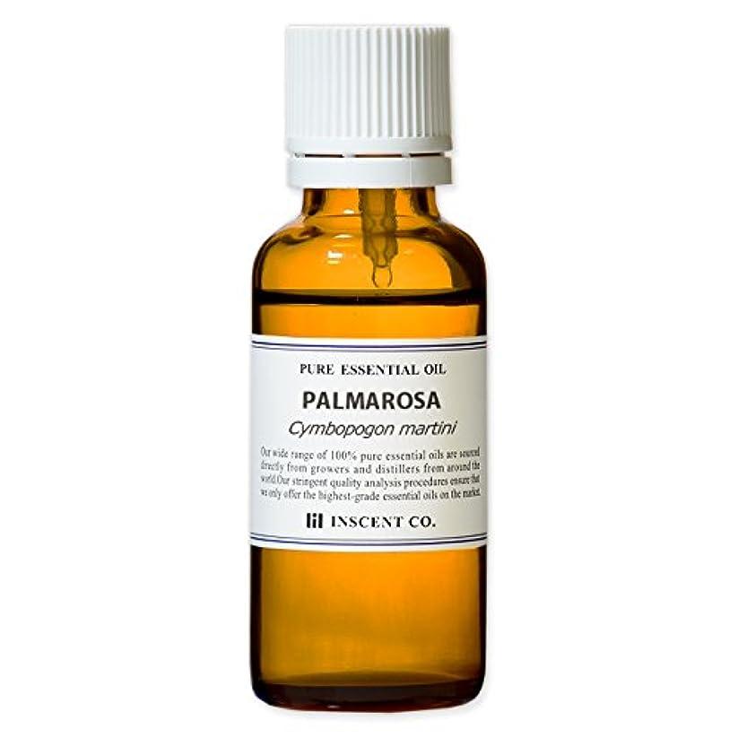 アフリカ人まっすぐにする思慮のないパルマローザ 30ml インセント アロマオイル AEAJ 表示基準適合認定精油
