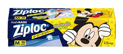 ジップロック イージージッパー M 1箱(10枚×2個)ミッキーマウス 2019 旭化成ホームプロダクツ×2個