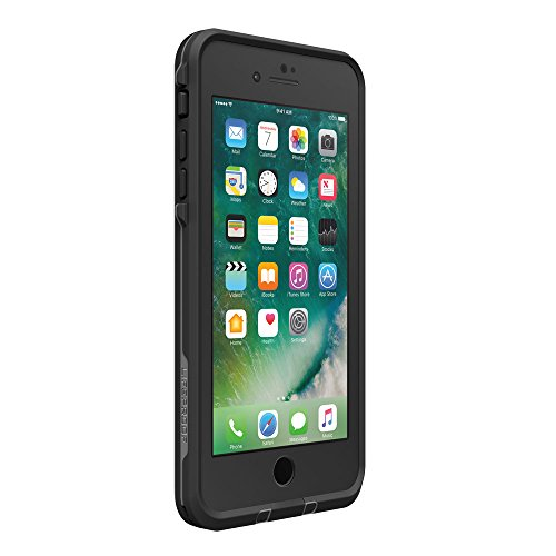 日本正規代理店品・iPhone本体保証付LIFEPROOF 防水 防塵 耐衝撃ケース fre for iPhone7 Plus Asphalt Black 77-53996
