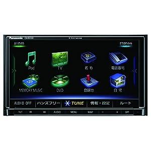パナソニック カーナビ ストラーダ CN-RE03D フルセグ/VICS WIDE/SD/CD/DVD/USB/Bluetooth/Wi-Fi 7V型