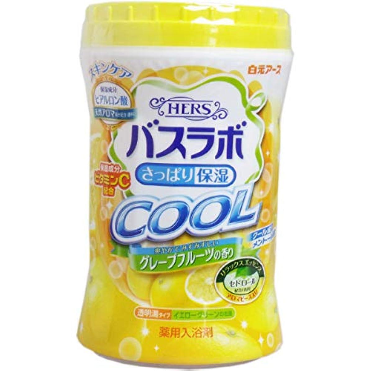 初心者ベッド家事HERSバスラボ ボトル クール グレープフルーツの香り 640g × 15点