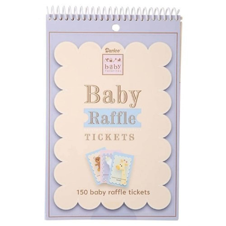 Baby Shower Game Pad - Raffle Tickets by Darice [並行輸入品]