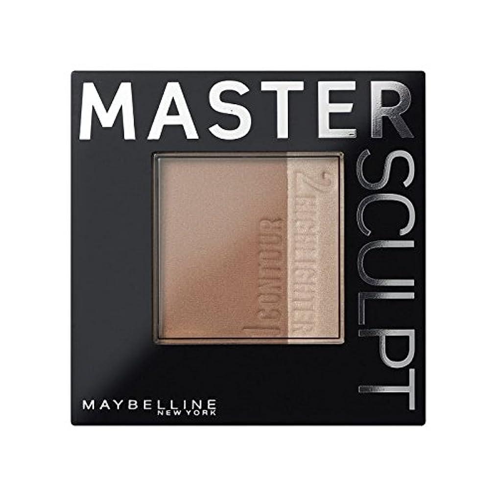 安心ニックネームパフメイベリンマスタースカルプト基盤02の /暗い輪郭 x2 - Maybelline Master Sculpt Contouring Foundation 02 Med/Dark (Pack of 2) [並行輸入品]