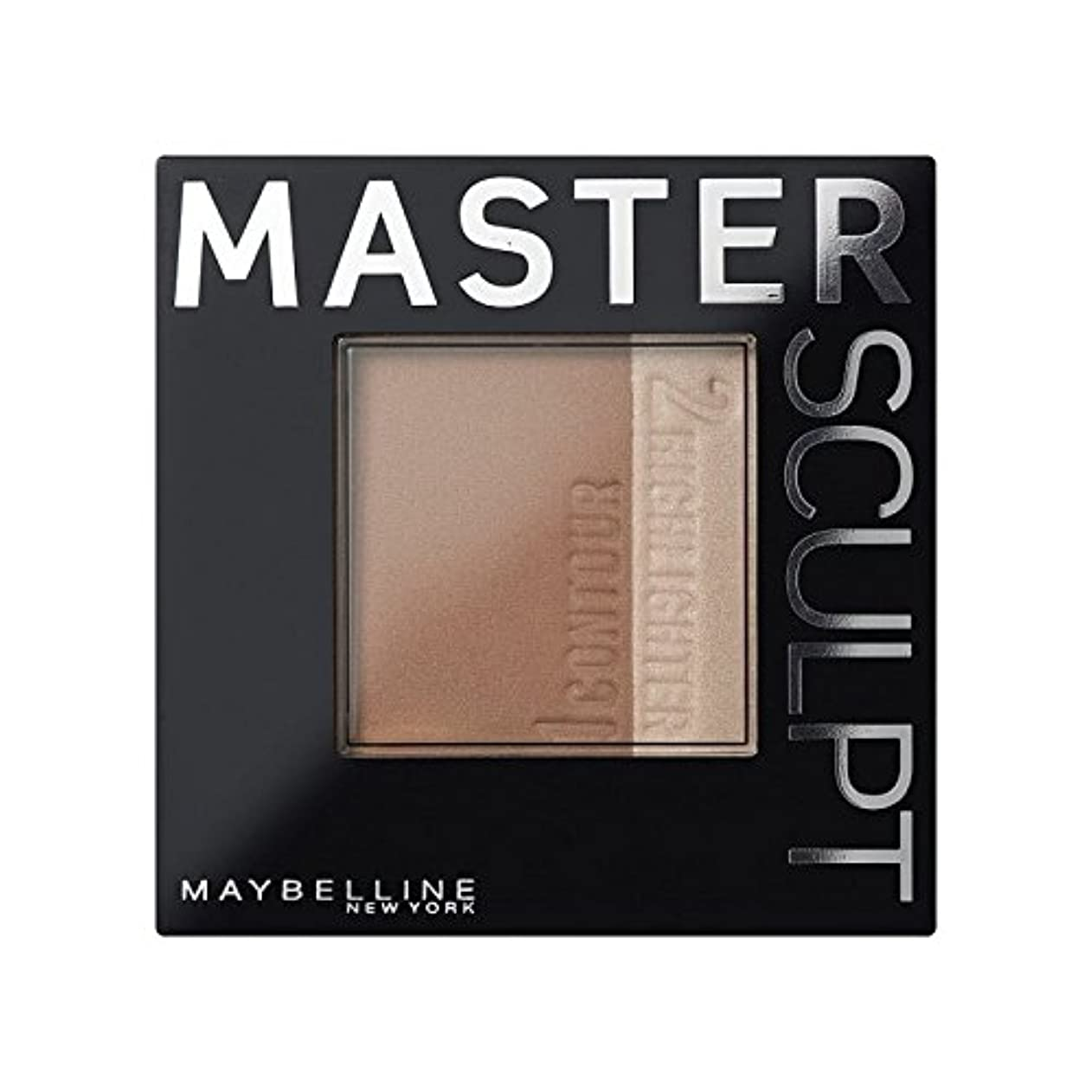 プログレッシブ食器棚サーフィンメイベリンマスタースカルプト基盤02の /暗い輪郭 x2 - Maybelline Master Sculpt Contouring Foundation 02 Med/Dark (Pack of 2) [並行輸入品]