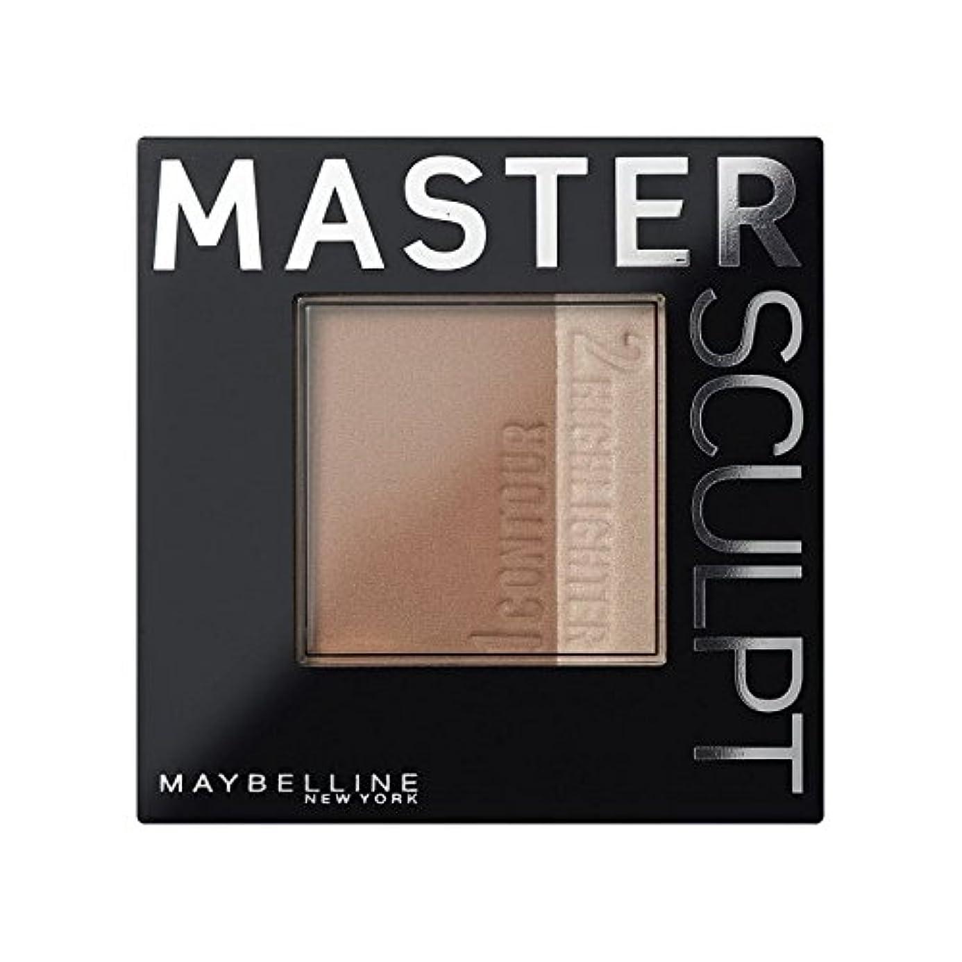祈る石炭少しメイベリンマスタースカルプト基盤02の /暗い輪郭 x4 - Maybelline Master Sculpt Contouring Foundation 02 Med/Dark (Pack of 4) [並行輸入品]
