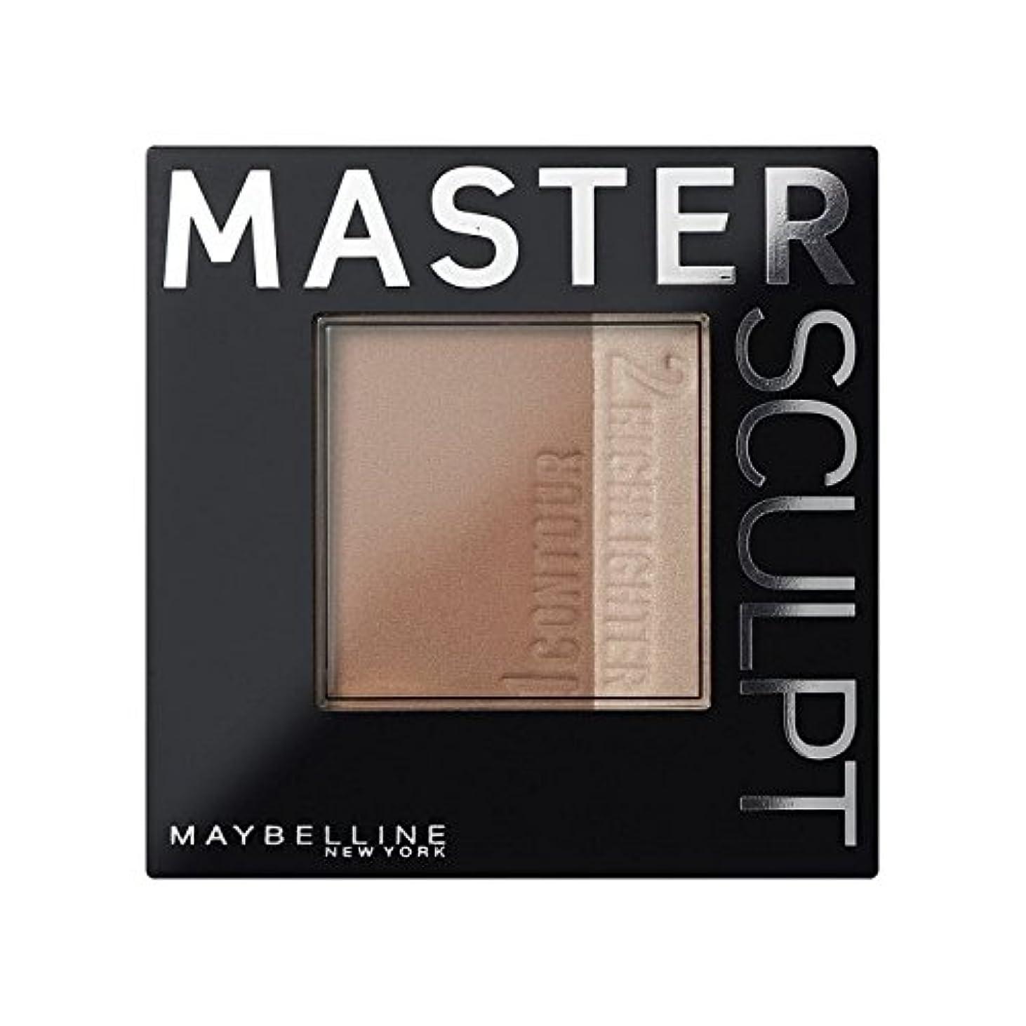 メイベリンマスタースカルプト基盤02の /暗い輪郭 x4 - Maybelline Master Sculpt Contouring Foundation 02 Med/Dark (Pack of 4) [並行輸入品]