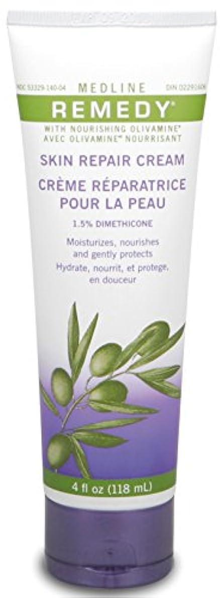 フィラデルフィア管理者祖母Medline Remedy with Olivamine Skin Repair Cream 4oz 118ml