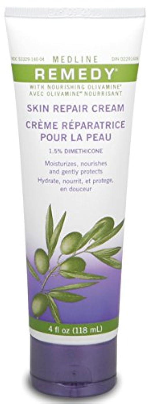 出発する告発者構築するMedline Remedy with Olivamine Skin Repair Cream 4oz 118ml