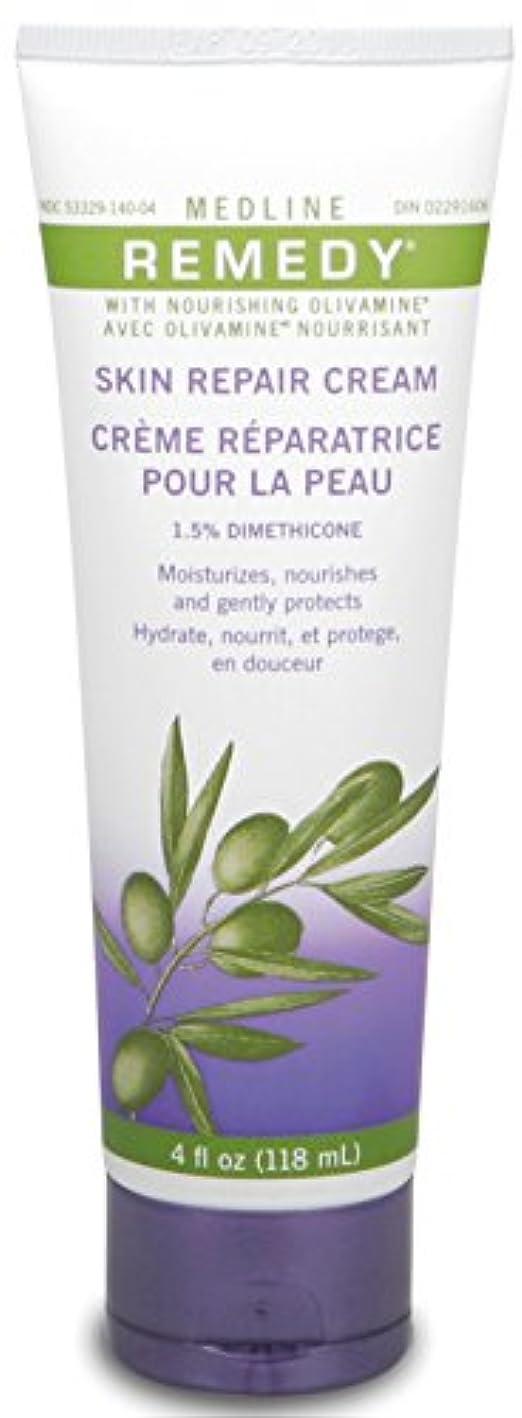 レイプスピン省Medline Remedy with Olivamine Skin Repair Cream 4oz 118ml