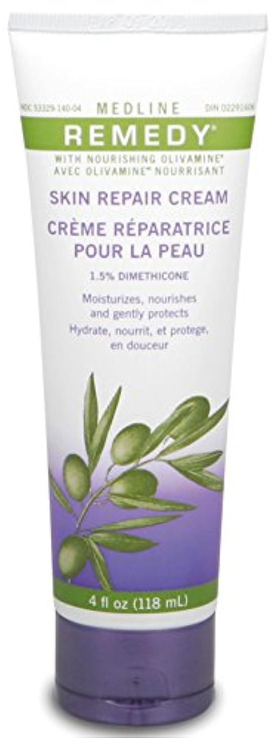 イサカ装備するセグメントMedline Remedy with Olivamine Skin Repair Cream 4oz 118ml